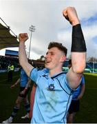 17 March 2019; Mark O'Brien of St Michael's College following the Bank of Ireland Leinster Schools Senior Cup Final between Gonzaga College and St Michael's College at the RDS Arena in Dublin. Photo by Ramsey Cardy/Sportsfile