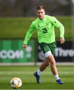 20 March 2019; James Collins during a Republic of Ireland training session at the FAI National Training Centre in Abbotstown, Dublin. Photo by Stephen McCarthy/Sportsfile