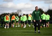 20 March 2019; Republic of Ireland goalkeeping coach Alan Kelly during a training session at the FAI National Training Centre in Abbotstown, Dublin. Photo by Stephen McCarthy/Sportsfile