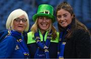 22 March 2019; Leinster supporters ahead of the Guinness PRO14 Round 18 match between Edinburgh and Leinster at BT Murrayfield Stadium in Edinburgh, Scotland. Photo by Ramsey Cardy/Sportsfile