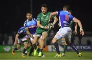 22 March 2019; Tiernan O'Halloran of Connacht in action against Dewaldt Duvenage of Benetton Rugby during the Guinness PRO14 Round 18 match between Connacht and Benetton Rugby at The Sportsground in Galway. Photo by Brendan Moran/Sportsfile