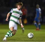 22 March 2019; Ronan Finn of Shamrock Rovers during the SSE Airtricity League Premier Division between Finn Harps and Shamrock Rovers at Finn Park in Ballybofey, Co. Donegal. Photo by Oliver McVeigh/Sportsfile