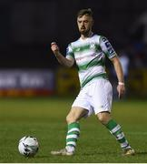 22 March 2019; Greg Bolger of Shamrock Rovers during the SSE Airtricity League Premier Division between Finn Harps and Shamrock Rovers at Finn Park in Ballybofey, Co. Donegal. Photo by Oliver McVeigh/Sportsfile