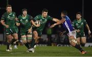 22 March 2019; Tom Farrell of Connacht in action against Toa Halafihi of Benetton Rugby during the Guinness PRO14 Round 18 match between Connacht and Benetton Rugby at The Sportsground in Galway. Photo by Brendan Moran/Sportsfile