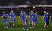 22 March 2019; The Leinster players walk off the pitch following their defeat in the Guinness PRO14 Round 18 match between Edinburgh and Leinster at BT Murrayfield Stadium in Edinburgh, Scotland. Photo by Ramsey Cardy/Sportsfile