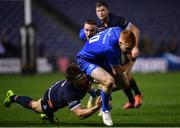 22 March 2019; Ciarán Frawley of Leinster is tackled by Hamish Watson of Edinburgh during the Guinness PRO14 Round 18 match between Edinburgh and Leinster at BT Murrayfield Stadium in Edinburgh, Scotland. Photo by Ramsey Cardy/Sportsfile