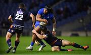 22 March 2019; Joe Tomane of Leinster is tackled by Simon Hickey, left, and Chris Dean of Edinburgh during the Guinness PRO14 Round 18 match between Edinburgh and Leinster at BT Murrayfield Stadium in Edinburgh, Scotland. Photo by Ramsey Cardy/Sportsfile