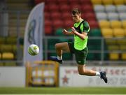 23 March 2019; Jayson Molumby during a Republic of Ireland U21 training session at Tallaght Stadium in Dublin. Photo by Eóin Noonan/Sportsfile