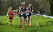 23 March 2019; Sorcha Shepherd of Boroughmuir High School, Edinburgh, Scotland, competing in the Junior Girls event during the SIAB Schools Cross Country International at Santry Demense in Santry, Dublin. Photo by Sam Barnes/Sportsfile