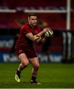 23 March 2019; Rory Scannell of Munster during the Guinness PRO14 Round 18 match between Munster and Zebre at Thomond Park in Limerick. Photo by Diarmuid Greene/Sportsfile
