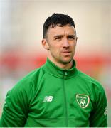 23 March 2019; Enda Stevens of Republic of Ireland during the UEFA EURO2020 Qualifier Group D match between Gibraltar and Republic of Ireland at Victoria Stadium in Gibraltar. Photo by Seb Daly/Sportsfile