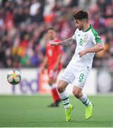23 March 2019; Seán Maguire of Republic of Ireland during the UEFA EURO2020 Qualifier Group D match between Gibraltar and Republic of Ireland at Victoria Stadium in Gibraltar. Photo by Seb Daly/Sportsfile