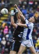 24 March 2019; Ciaran Kilkenny of Dublin in action against Killian Clarke of Cavan during the Allianz Football League Division 1 Round 7 match between Cavan and Dublin at Kingspan Breffni in Cavan. Photo by Ray McManus/Sportsfile