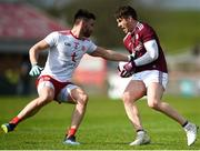 24 March 2019; Shane Walsh of Galway in action against Pádraig Hampsey of Tyrone during the Allianz Football League Division 1 Round 7 match between Tyrone and Galway at Healy Park in Omagh. Photo by David Fitzgerald/Sportsfile