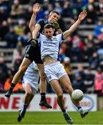 24 March 2019; Conor Madden of Cavan in action against Darren Daly of Dublin during the Allianz Football League Division 1 Round 7 match between Cavan and Dublin at Kingspan Breffni in Cavan. Photo by Ray McManus/Sportsfile