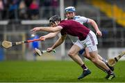 24 March 2019; Padraic Mannion of Galway in action against Stephen Bennett of Waterford during the Allianz Hurling League Division 1 semi-final match between Galway and Waterford at Nowlan Park in Kilkenny. Photo by Brendan Moran/Sportsfile