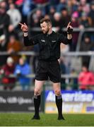 24 March 2019; Referee Anthony Nolan during the Allianz Football League Division 1 Round 7 match between Roscommon and Kerry at Dr. Hyde Park in Roscommon. Photo by Sam Barnes/Sportsfile
