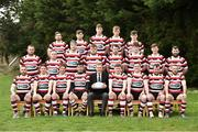 24 March 2019; The Enniscorthy RFC Squad before the Bank of Ireland Provincial Towns Cup Semi-Final match between Enniscorthy RFC and Gorey RFC at Wexford Wanderers RFC in Wexford. Photo by Matt Browne/Sportsfile
