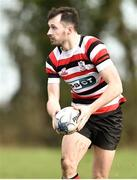 24 March 2019; Ivan Jacob of Enniscorthy RFC during the Bank of Ireland Provincial Towns Cup Semi-Final match between Enniscorthy RFC and Gorey RFC at Wexford Wanderers RFC in Wexford. Photo by Matt Browne/Sportsfile