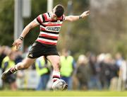 24 March 2019; Ivan Poole of Enniscorthy RFC during the Bank of Ireland Provincial Towns Cup Semi-Final match between Enniscorthy RFC and Gorey RFC at Wexford Wanderers RFC in Wexford. Photo by Matt Browne/Sportsfile