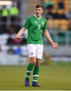 24 March 2019; Jayson Molumby of Republic of Ireland reacts during the UEFA European U21 Championship Qualifier Group 1 match between Republic of Ireland and Luxembourg in Tallaght Stadium in Dublin. Photo by Ben McShane/Sportsfile
