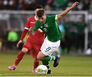 24 March 2019; Jayson Molumby of Republic of Ireland during the UEFA European U21 Championship Qualifier Group 1 match between Republic of Ireland and Luxembourg in Tallaght Stadium in Dublin. Photo by Ben McShane/Sportsfile