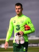 25 March 2019; James Collins after Republic of Ireland Squad Training at FAI NTC, Abbotstown, Dublin. Photo by Stephen McCarthy/Sportsfile