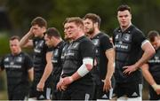 25 March 2019; Tadhg Furlong and his Leinster team-mates during squad training at Rosemount in UCD, Dublin. Photo by Ramsey Cardy/Sportsfile
