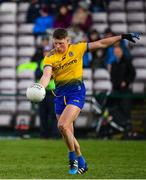 16 March 2019; Conor Cox of Roscommon during the Allianz Football League Division 1 Round 6 match between Galway and Roscommon at Pearse Stadium in Salthill, Galway.  Photo by Sam Barnes/Sportsfile