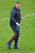 24 March 2019; Mayo manager Peter Leahy before the Lidl Ladies NFL Round 6 match between Mayo and Cork at Elverys MacHale Park in Castlebar, Mayo. Photo by Piaras Ó Mídheach/Sportsfile