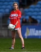 24 March 2019; Orla Finn of Cork during the Lidl Ladies NFL Round 6 match between Mayo and Cork at Elverys MacHale Park in Castlebar, Mayo. Photo by Piaras Ó Mídheach/Sportsfile