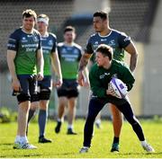 26 March 2019; Kieran Marmion during Connacht squad training at the Sportsground in Galway. Photo by Ramsey Cardy/Sportsfile