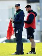 26 March 2019; Head coach Andy Friend, left, and backs coach Nigel Carolan during Connacht squad training at the Sportsground in Galway. Photo by Ramsey Cardy/Sportsfile
