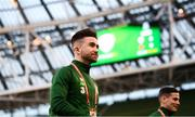 26 March 2019; Sean Maguire of Republic of Ireland prior to the UEFA EURO2020 Group D qualifying match between Republic of Ireland and Georgia at the Aviva Stadium, Lansdowne Road, in Dublin. Photo by Stephen McCarthy/Sportsfile