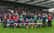 24 March 2019; The Limerick team prior to the Allianz Hurling League Division 1 Semi-Final match between Limerick and Dublin at Nowlan Park in Kilkenny. Photo by Brendan Moran/Sportsfile