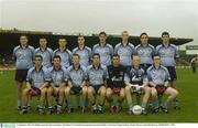 21 September 2003; The Dublin squad take their team photo. All-Ireland U21 Football Championship Semi-Final, Dublin v Waterford, Semple Stadium, Thurles. Picture credit; Matt Browne / SPORTSFILE *EDI*