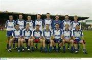 21 September 2003; The Waterford squad take their team photo. All-Ireland U21 Football Championship Semi-Final, Dublin v Waterford, Semple Stadium, Thurles. Picture credit; Matt Browne / SPORTSFILE *EDI*