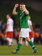 26 March 2019; Seamus Coleman of Republic of Ireland claps the supporters following the UEFA EURO2020 Group D qualifying match between Republic of Ireland and Georgia at the Aviva Stadium, Lansdowne Road, in Dublin. Photo by Seb Daly/Sportsfile