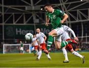 26 March 2019; Enda Stevens of Republic of Ireland during the UEFA EURO2020 Group D qualifying match between Republic of Ireland and Georgia at the Aviva Stadium, Lansdowne Road, in Dublin. Photo by Seb Daly/Sportsfile