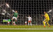 26 March 2019; Jeff Hendrick of Republic of Ireland scores a goal, which was disallowed for offside, the UEFA EURO2020 Group D qualifying match between Republic of Ireland and Georgia at the Aviva Stadium, Lansdowne Road, in Dublin. Photo by Seb Daly/Sportsfile