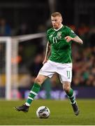 26 March 2019; James McClean of Republic of Ireland during the UEFA EURO2020 Group D qualifying match between Republic of Ireland and Georgia at the Aviva Stadium, Lansdowne Road, in Dublin. Photo by Seb Daly/Sportsfile