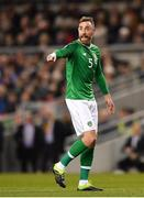 26 March 2019; Richard Keogh of Republic of Ireland during the UEFA EURO2020 Group D qualifying match between Republic of Ireland and Georgia at the Aviva Stadium, Lansdowne Road, in Dublin. Photo by Seb Daly/Sportsfile