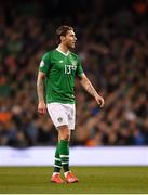 26 March 2019; Jeff Hendrick of Republic of Ireland during the UEFA EURO2020 Group D qualifying match between Republic of Ireland and Georgia at the Aviva Stadium, Lansdowne Road, in Dublin. Photo by Seb Daly/Sportsfile