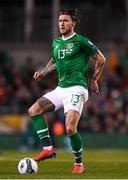 26 March 2019; Jeff Hendrick of Republic of Ireland during the UEFA EURO2020 Group D qualifying match between Republic of Ireland and Georgia at the Aviva Stadium, Lansdowne Road, in Dublin. Photo by Harry Murphy/Sportsfile