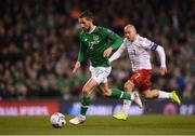 26 March 2019; Conor Hourihane of Republic of Ireland during the UEFA EURO2020 Group D qualifying match between Republic of Ireland and Georgia at the Aviva Stadium, Lansdowne Road in Dublin. Photo by Stephen McCarthy/Sportsfile