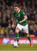 26 March 2019; Jeff Hendrick of Republic of Ireland during the UEFA EURO2020 Group D qualifying match between Republic of Ireland and Georgia at the Aviva Stadium, Lansdowne Road in Dublin. Photo by Stephen McCarthy/Sportsfile