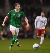 26 March 2019; Seamus Coleman of Republic of Ireland during the UEFA EURO2020 Group D qualifying match between Republic of Ireland and Georgia at the Aviva Stadium, Lansdowne Road in Dublin. Photo by Stephen McCarthy/Sportsfile