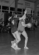 5 April 1983; Siobhán Caffrey of Meteors Basketball. Roy Curtis Tournament. Photo by Jim O'Kelly/Sportsfile