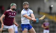 24 March 2019; Pauric Mahony of Waterford in action against Cathal Mannion during the Allianz Hurling League Division 1 Semi-Final match between Galway and Waterford at Nowlan Park in Kilkenny. Photo by Brendan Moran/Sportsfile