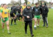 24 March 2019; Donegal Manager Declan Bonner after the Allianz Football League Division 2 Round 7 match between Donegal and Kildare at Fr. Tierney Park in Ballyshannon, Donegal. Photo by Oliver McVeigh/Sportsfile